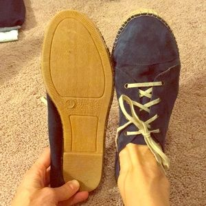 Chocolat blue shoes. Size 10.